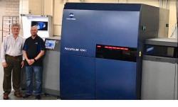 KM AccurioJet KM-1 UV inkjet press