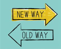 new way old way