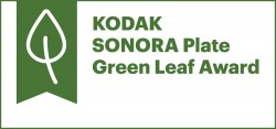 Sonora Plate Green Leaf Award