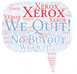 Xerox to HP we quit