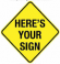 Here's your sign